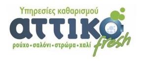 ΑΤΤΙΚΟ - TEXTILENCLEANING SERVICE